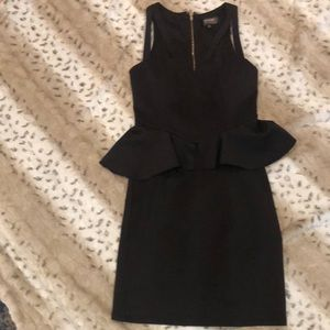 Guess strappy open neckline dress